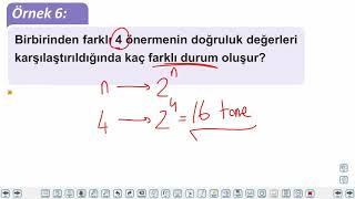 Eğitim Vadisi 9.Sınıf Matematik 1.Föy Mantık 1 Konu Anlatım Videoları