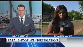 Suspect in Texarkana, Texas overnight fatal shooting behind bars in Miller County