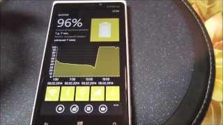 настройка работы аккумулятора Nokia Lumia 525/920/925/1020/1520/930