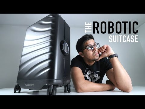 UNBOXING & LETS TRY – Rover Speed aka THE ROBOTIC SUITCASE by Cowarobot  – FULL REVIEW!