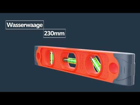 Kleine Magnetwasserwaage von PRESCH - Denn Qualität begeistert!
