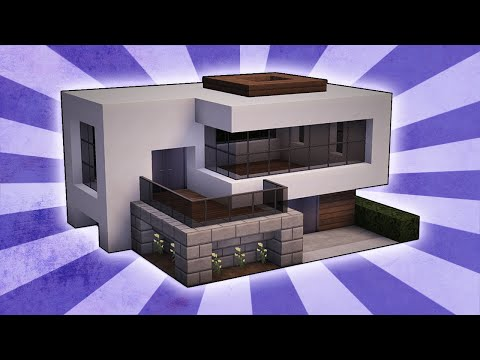Minecraft - Suburban House Tutorial (Minecraft House
