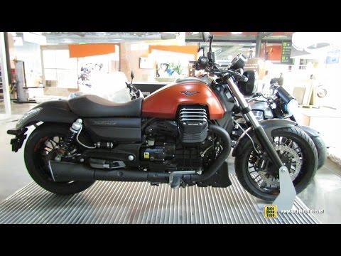 2015 Moto Guzzi Audace - Walkaround - 2014 EICMA Milan Motorcycle Exhibition