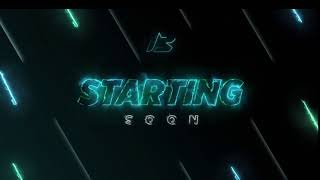 I will make an animated stream starting soon screen for twitch