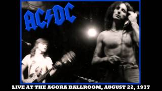 AC/DC The Jack LIVE: At The Agora Ballroom August 22, 1977 HD