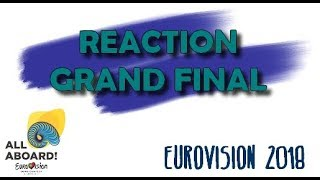 Grand Final Results Reaction (Eurovision 2018)