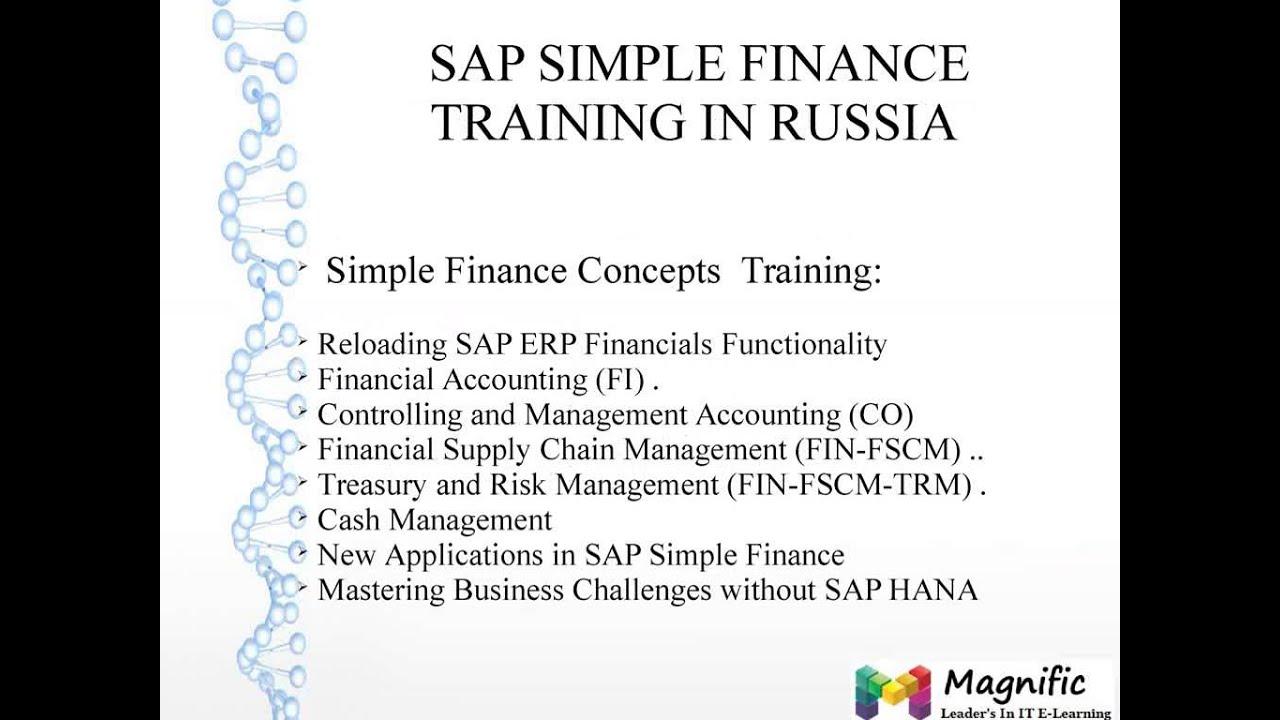 SAP SIMPLE FINANCE ONLINE TRAINING IN USA|UK|CANADA|AUSTRALIA|SOUTH AFIRCA thumbnail