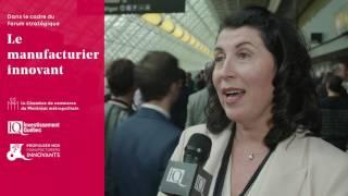 Forum sur le manufacturier innovant : Groupe Simoneau - Manufacturiers Innovants