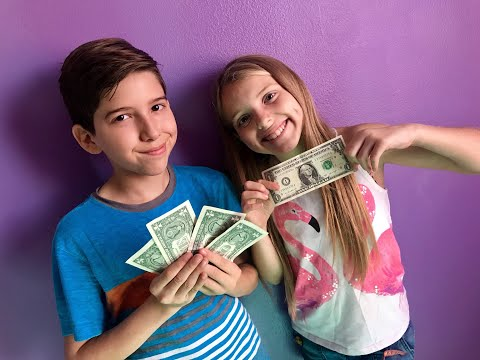 Making Money Appear with AGT #KidMagicians