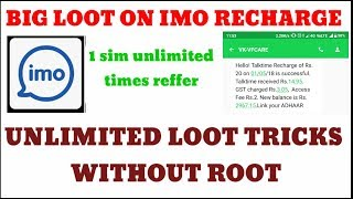 (Tricks close now)Imo unlimited refer and earn tricks without new number!! #DIGITECHCHANNEL
