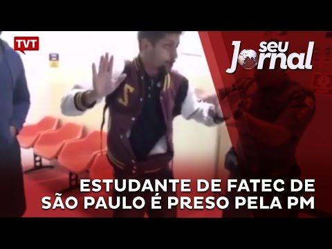 Estudante de Fatec de São Paulo é preso pela PM