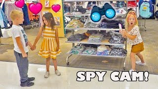 SPYING ON MY BEST FRIEND AND HER CRUSH!!! **CAUGHT THEM!**