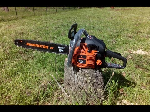Remington RM4620 Chainsaw – First Use and review