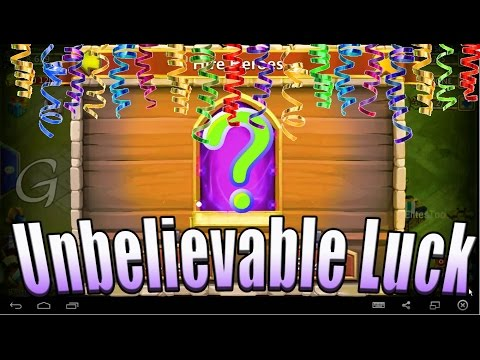 Castle Clash-Incredible Lucky Rolling under 2k Gems plus My New Line ID