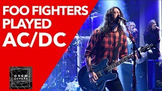 Foo Fighters Covered AC/DC's 'Let There Be Rock' in Honor of Malcolm Young
