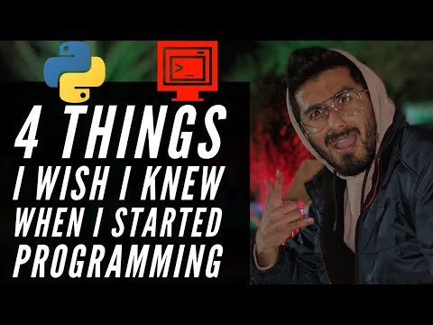 A good video if you want to start programming