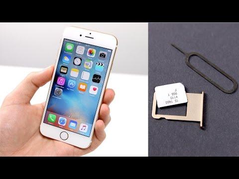 Apple iPhone 6s / 6s Plus: Einrichten & Nano-Sim Einlegen (Deutsch)   SwagTab