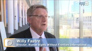 A keresztényüldözésről tartott konferenciát az Európai Parlament néppárti frakciója