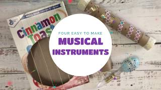 4 Easy To Make Musical Instruments