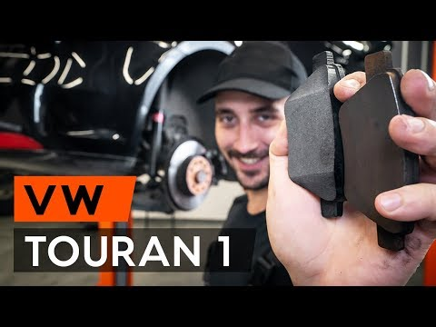 Come sostituire pastiglie freno posteriori su VW TOURAN 1 (1T3) [TUTORIAL AUTODOC]