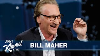 Bill Maher on Getting Anger from Both Sides, Our Divided Country & Norm Macdonald's Passing