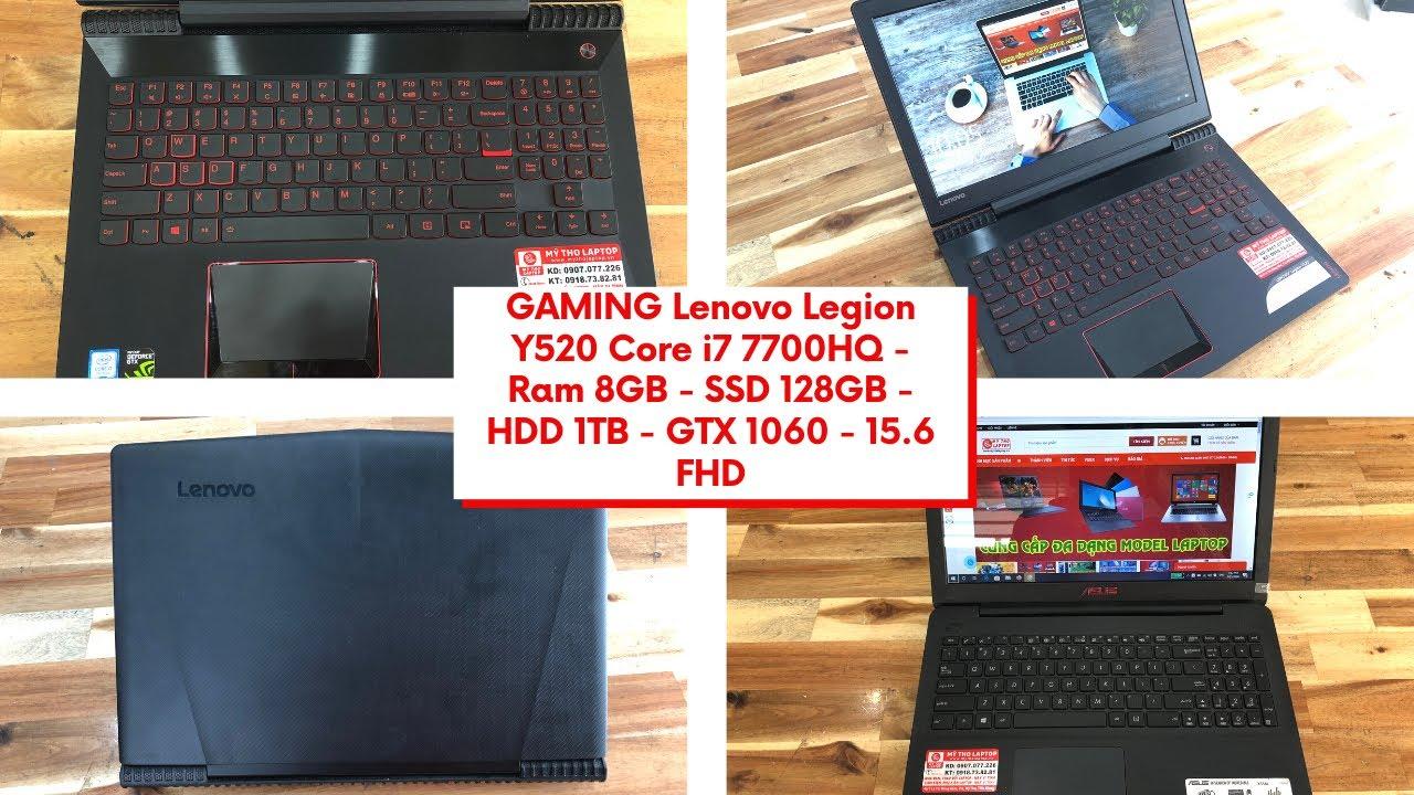 Khủng long Gaming Lenovo Legion Core i7 - GTX 1060