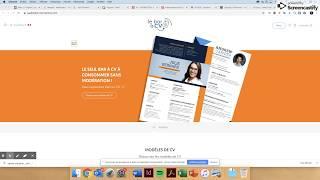 SUP BIOTECH - Soumettre un CV pour Evaluation