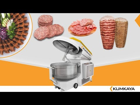 KUMKAYA MİKSER ÇİĞ KÖFTE PRODUCED!(Removable Bowl Spiral Mixers)