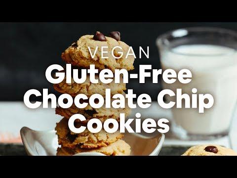 Perfect Vegan Gluten-Free Chocolate Chip Cookies | Minimalist Baker