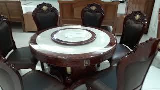 Bộ bàn ăn mặt đá cao cấp 6 ghế - 0961.850.774 Mr An