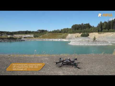 RIEGL Bathycopter UAV based hydrographic surveying system