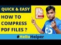 How to Compress PDF files Online Without Losing Quality