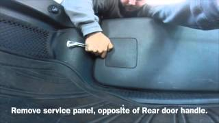 Jeep Liberty Rear Door Fix Unlock