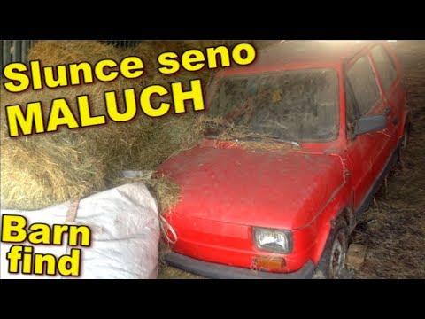 Event-VLOG #86 - SLUNCE SENO MALUCH ⟰ barn find Fiat 126p