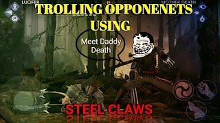 Shadow Fight 3 Trolling Opponents with Steel Claws