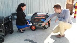 Бензиновый генератор Matari MP 8900 от компании ПКФ «Электромотор» - видео