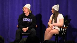 Evan Peters, Actor Evan Peters Talks To UMass Boston About Ghosts, Monkeys & Sirens