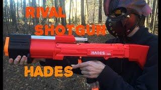 NERF MOD: RIVAL HADES SHOTGUN (Pump Action Apollo Kit)