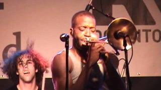 One Night Only Trombone Shorty Live Richmond Virginia Browns Island May 20 2011