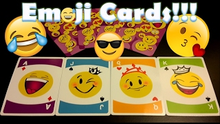 EMOJI GAME CARDS!!! CONCENTRATION GAME!!!