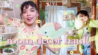 A Huge, AeStHeTiC Room Decor Haul!! 🏠✨ Ikea, Daiso, Urban Outfitters & More!