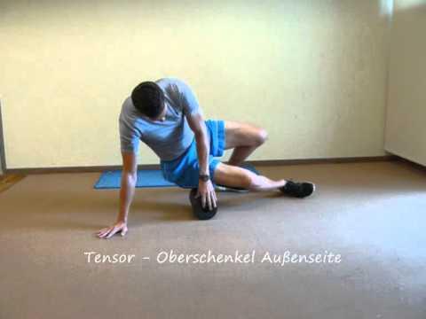 Schmerzen in der rechten Seite des Rückens und Hände in der Leiste