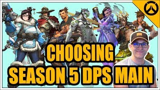 Help Me Choose My Season 5 DPS MAIN! #overwatch