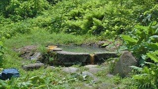 山形:石抱温泉肘折温泉の奥にある野湯
