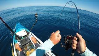 Kayak Fishing for Deep Sea Monsters -- New Zealand Ep 9