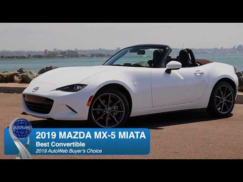 2019 Mazda MX-5 Miata Wins the AutoWeb Buyer