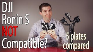 DJI Ronin S Gimbal Incompatible with Manfrotto Plates? 5 Plates Compared