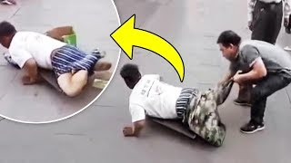 8 Fake Beggars That Were Revealed
