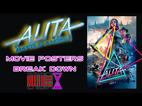 Alita Battle Angel : Artist Breaks Down Movie Posters