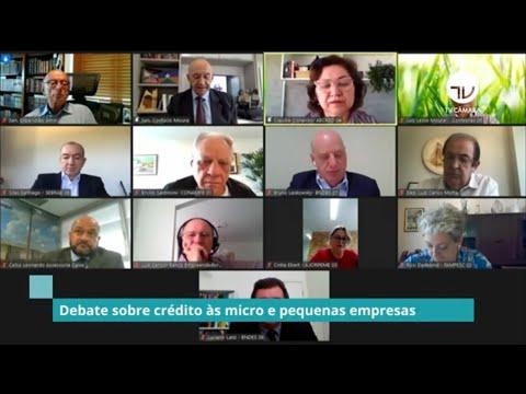 Comissão mista debate créditos às micros e pequenas empresas - 13/10/20